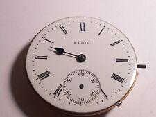 Elgin 6S movement, dial, 2 hands, vintage, serial #3810515, needs cleaning/repai