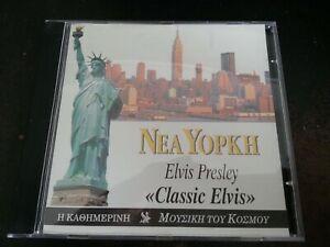 Elvis Presley - Nea Yopkh - Classic Elvis (BMG GREECE 1998 PROMO ONLY CD 16 TKS)