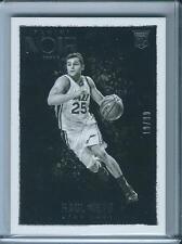 2015-16 Panini Noir Black and White Rookies Raul Neto /99 Utah Jazz Card