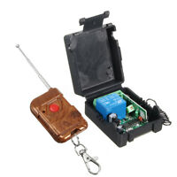 DC 12V 10A Relay 1CH Wireless RF Remote Control Switch Transmitter + Receiver UK