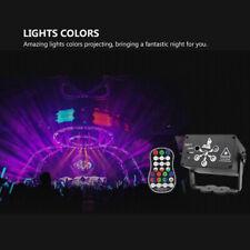 Fern 6-Auge RGB Projektor laser LED Stroboskope DJ Party Bühnenlichter Disko DHL