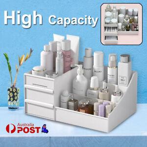 Makeup Storage Box Cosmetic Stationery Drawer Desktop Table Organiser Holder AU