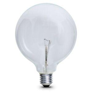 Unbranded 25w Clear Globe Bulb -  Edison Screw / E27 (240 volts)