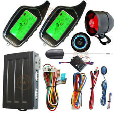 remote starter 2 way car security alarm ultrasonic sensor motion alarm trigger