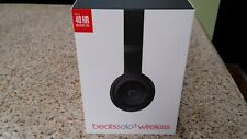Beats by dre Dre Solo3 3.0 Wireless Bluetooth Headphones Matte Black color New