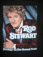 "2007 ROD STEWART ""ROCKIN' IN THE ROUND"" Concert Tour (LG) Long Sleeve Shirt"