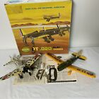 2 Vintage Cox Model WWII Fighter Planes Japanese Zero USA Army .020 Engine READ