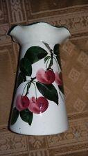 antique,pottery wemyss,good & co,scottish factory.signed flower vase