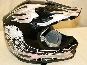 DOT Approved Youth Girls Off road Motocross ATV Helmet Children size M 51-52cm
