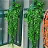 9438 1243 2.4m Artificial Ivy Leaf Leaves Garland Plants Vine Home Garden Decor