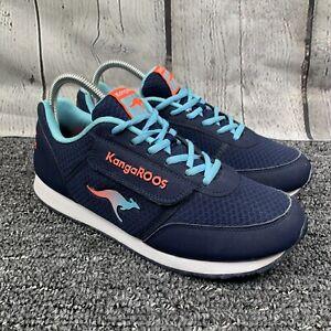 KangaROOS Pocketpass Jogger Navy Blue Running Athletic Shoe Size 9.5