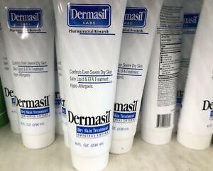 6 Pack Dermasil Labs Dry Skin Treatment, 8 fl oz, Original Lotion