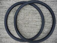 PAIR 26 x 1 3/8 Bike Cycle Road Tyres Black Urban Dutch Bicycle Vintage