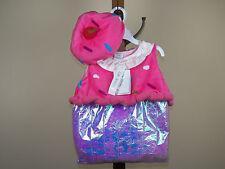Koala Kids 2-Piece Cupcake Halloween Costume Girls 12/18M, 18/24M *NEW W/ TAGS*