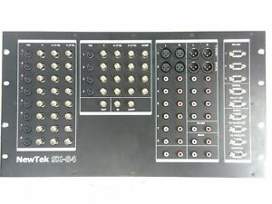 NewTek SX-84 Audio Video Switcher Break Out Box for Video Toaster