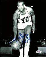 Wayne Embry signed 8x10 photo PSA/DNA Cincinnati Royals Autographed