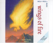 CD ASHA (Denis Quinn)wings of fireNEAR MINTUK 1990 (R1025)