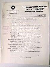 Transportation Current Magazine MVA January 5-12, 1977 FAL 050517nonrh