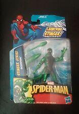 "New 2010 Marvel Spider-Man Stinger Strike Scorpion Figure 4"" Hasbro"