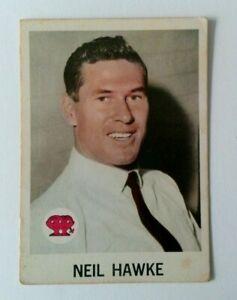 1965 SCANLEN'S CRICKET CARD # 6 NEIL HAWKE