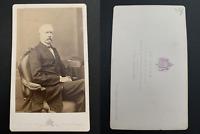 Le Jeune, Paris, Général Mac Mahon Vintage albumen carte de visite, CDV. T