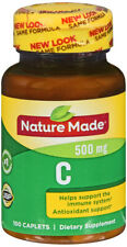 Nature Made Vitamin C 500 mg Caplets 100 Count  Helps Support the Immune System