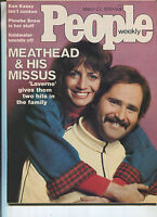 PEOPLE MAGAZINE Mar.22,1976 Rob Reiner Penny Marshall  Ginger Rogers