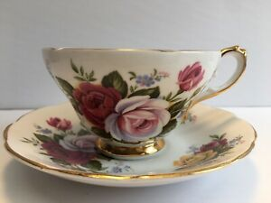 Southerland Staffordshire England tea cup and saucer