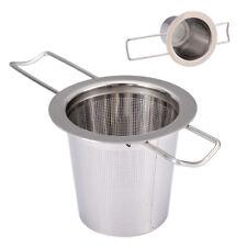 Stainless Steel Metal Cup Strainer Mesh Tea Infuser Loose Leaf Filter #USA