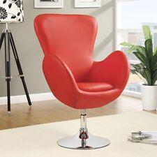 Wonderful Coaster Home Furnishings 902101 Leisure Swivel Chair Red