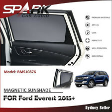 CT MAGNETIC CAR WINDOW SUN SHADE BLIND MESH REAR DOOR FOR FORD Everest 2015+
