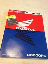 Honda CB600F CBF 600 Hornet CB manuel technique atelier workshop service manual