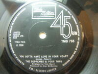 """The Supremes & Four Tops - You Gotta Have Love 1968 7"""" Tamla Motown TMG 793"""