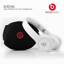 NEW Beats by Dr. Dre Solo HD Monochrome WHITE Headband Headphones - Matte WHITE