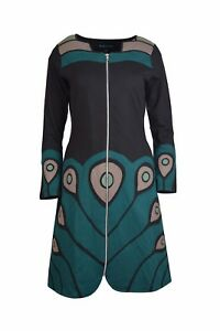 Women's Long Sleeved Patchwork Jacket.