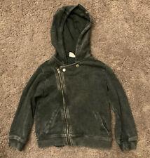 Zara Boys Biker Style Zip Sweatshirt - Age 2 - 3