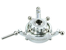 Microheli Blade 360 CFX Silver Aluminum Double Bearing Swashplate MH-36FX012DS