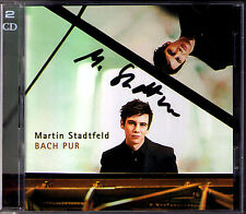 Martin STADTFELD Signiert BACH PUR 2CD Italian Concerto French Suite Inventions