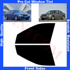 Pre Cut Window Tint Mercedes E Class W211 Saloon 4D  03-09 Front Sides Any Shade