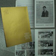 Monografia aziendale - GELOSO 1931-1970 - Radio amplificatori valvole bollettino