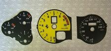 Instrument dash panel gauges Faces PLATE Mph or Km/h for Ferrari 360 Stradale