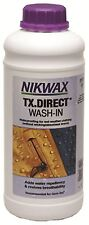 NOUVEAU NIKWAX 1 L TX Direct Wash-in the No1 Imperméabilisation Wet Weather Clot...