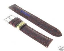 Cinturino Pelle Cuoio Fiorentino Testa di Moro  18 mm