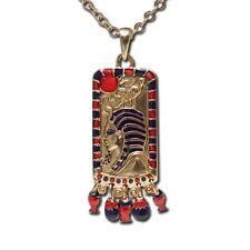 Egyptian King Tut Necklace Pewter Jewelry.Egypt Pendant
