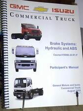 2005 GMC ISUZU MEDIUM DUTY TRUCKS HYDRAULIC BRAKE SYSTEMS & ABS FACTORY MANUL
