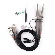 100MHz BNC 1X & 10X Oscilloscope Scope Clip Passive Probes Kit Fr Tektronix  HP