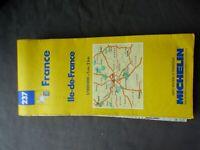Carte michelin 237 ile de france 1996