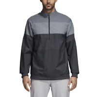 Adidas Golf Men's Gradient Half Zip Pullover Jacket - CD9946 Carbon - Pick Size