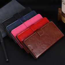New Leather Wallet Pouch Flip Book Card Slot Stand Case Cover For HTC One X10