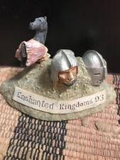 John Hopkins 1993 - Enchanted Kingdoms - Membership Plaque - Autographed Rare